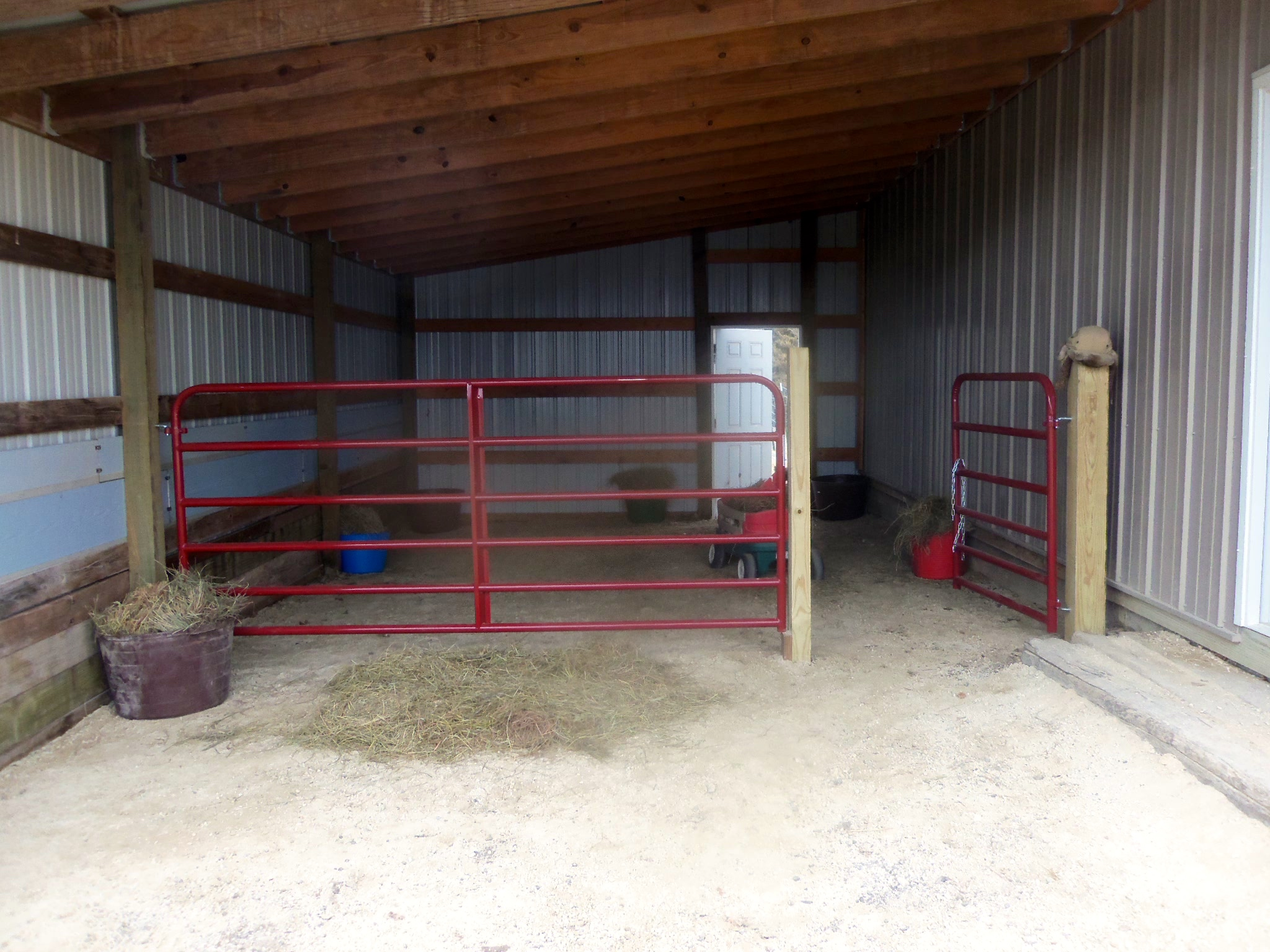 Lean to self sufficiency and assorted hijinks for Lean to barn
